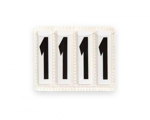 Bridle Number Holder 4 Number Inserts