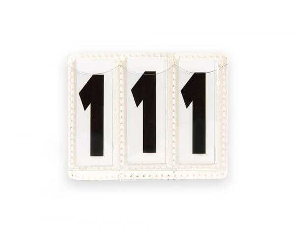 Bridle Number Holder 3 Number Inserts