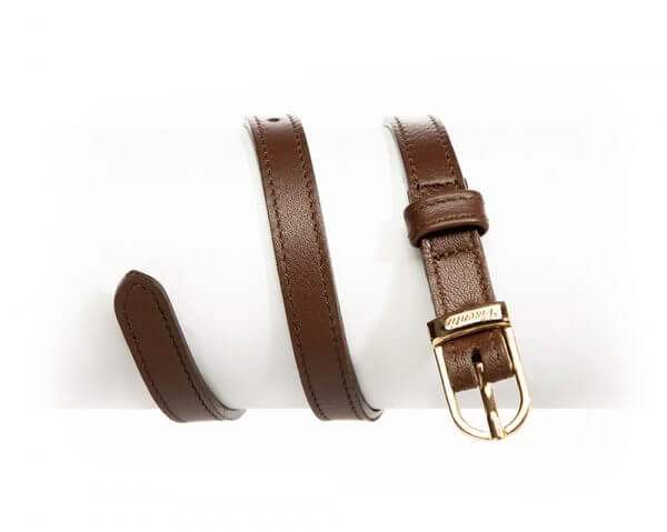 English Style Leather Spur Straps Whisky