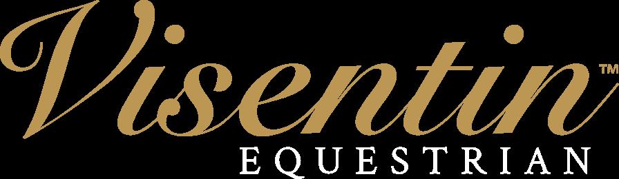 Visentin Equestrian Logo Large Reversed